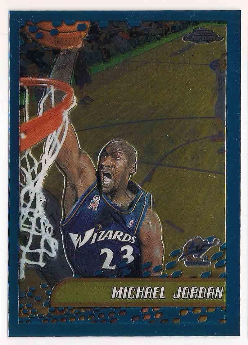 2002-03 Topps Chrome Michael Jordan #95 card front image