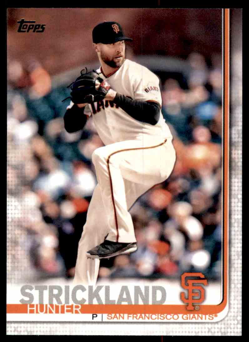 2019 Topps Hunter Strickland #153 card front image
