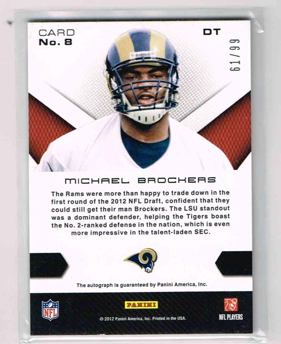 2012 Momentum Michael Brockers 8 on Kronozio