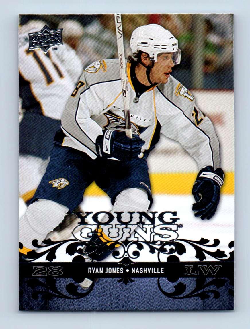 2008-09 Upper Deck Young Guns Ryan Jones #226 card front image