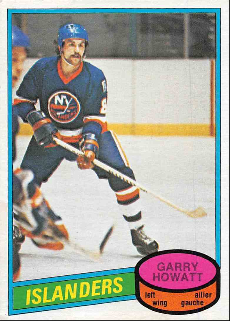 1980-81 O-Pee-Chee Garry Howatt #386 card front image