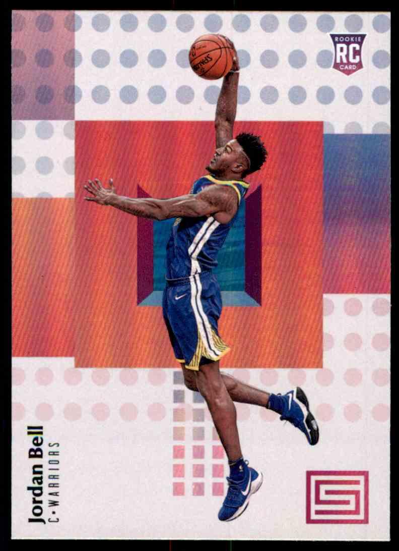 2017-18 Panini Status Jordan Bell RC #121 card front image