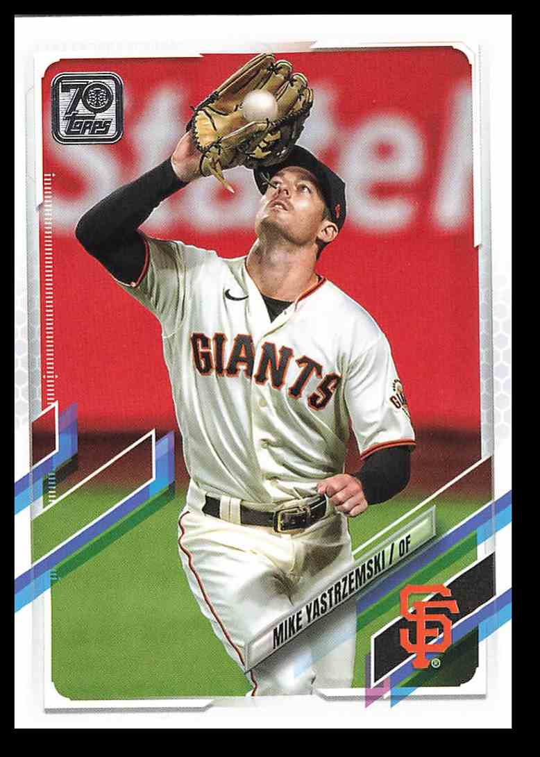 2021 Topps Series 1 Mike Yastrzemski #227 card front image