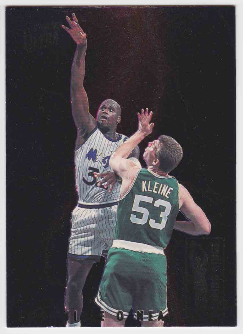 1993-94 Fleer Ultra Scoring Kings Shaquille O'neal #8 OF 10 card front image