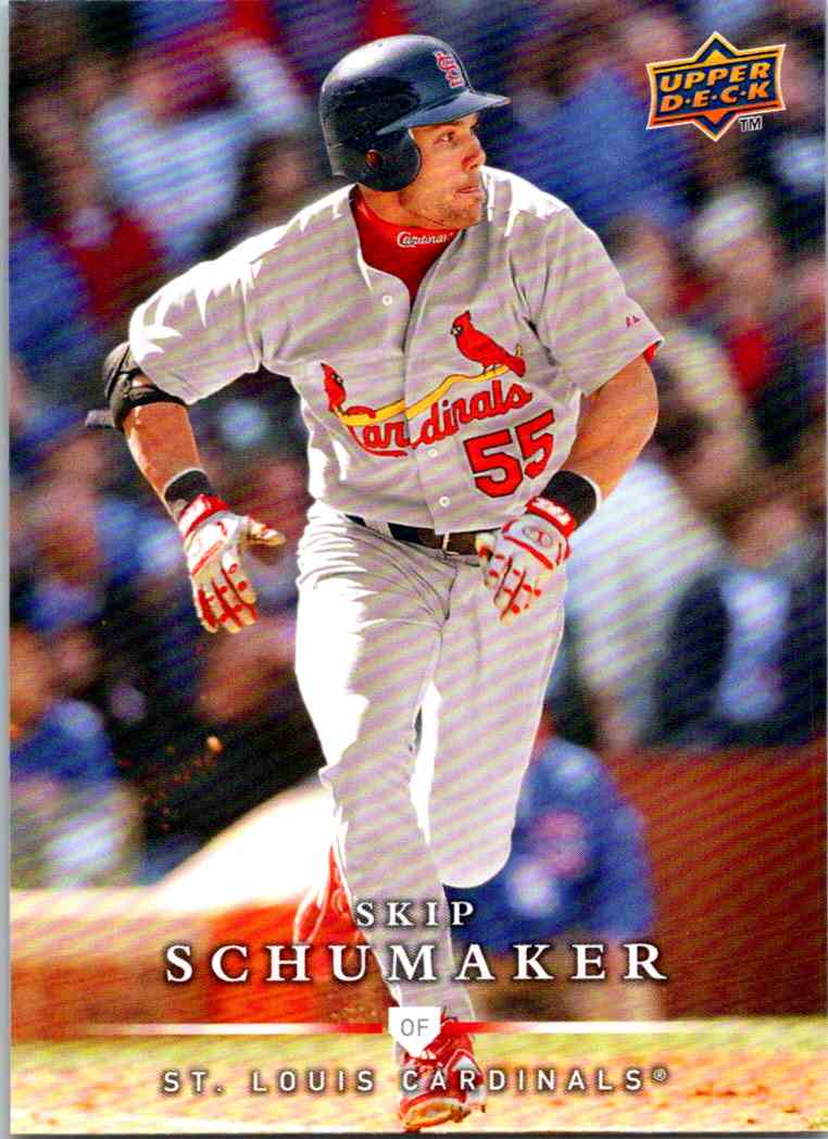 2008 Upper Deck First Edition Skip Schumaker #472 card front image