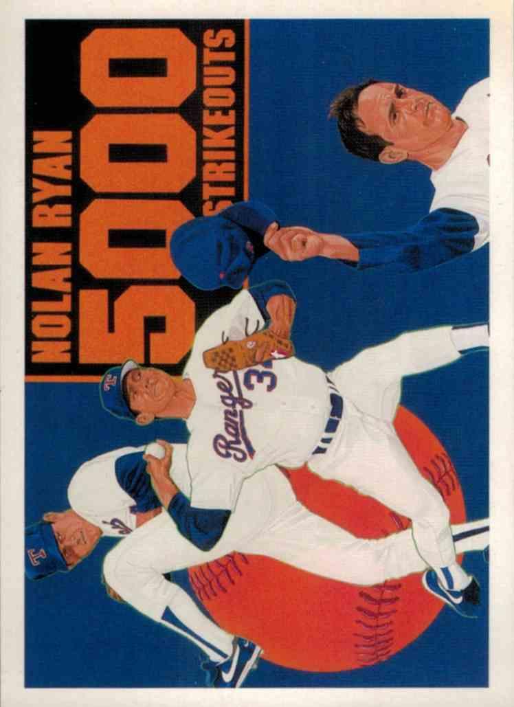 1990 Upper Deck Nolan Ryan 5000K #34 card front image