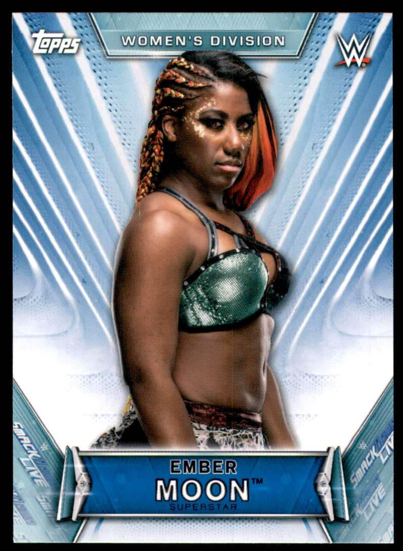 2019 Topps Wwe Women's Division Ember Moon #5 card front image