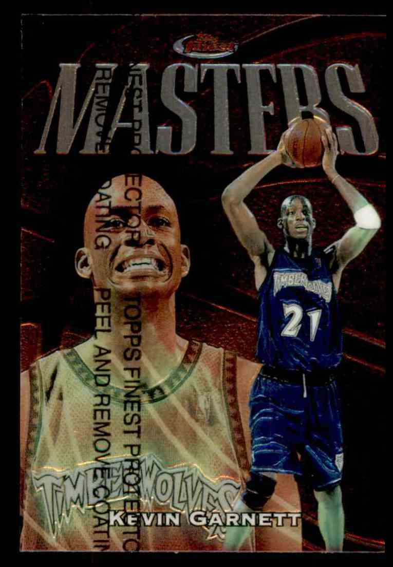 1997-98 Topps Finest Masters Kevin Garnett #246 card front image
