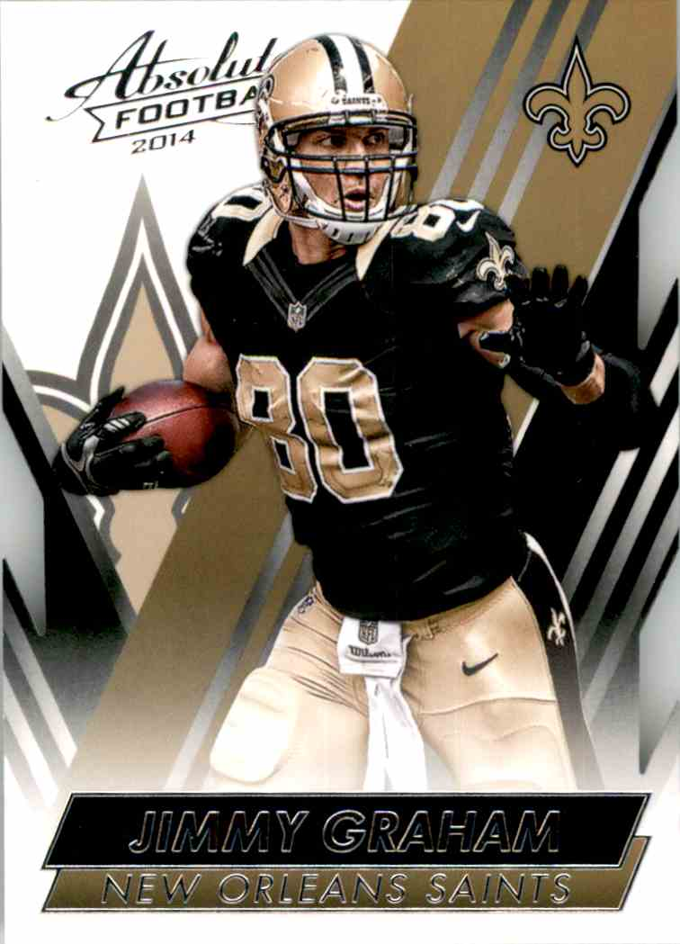 2014 Absolute Retail Jimmy Graham #6 card front image