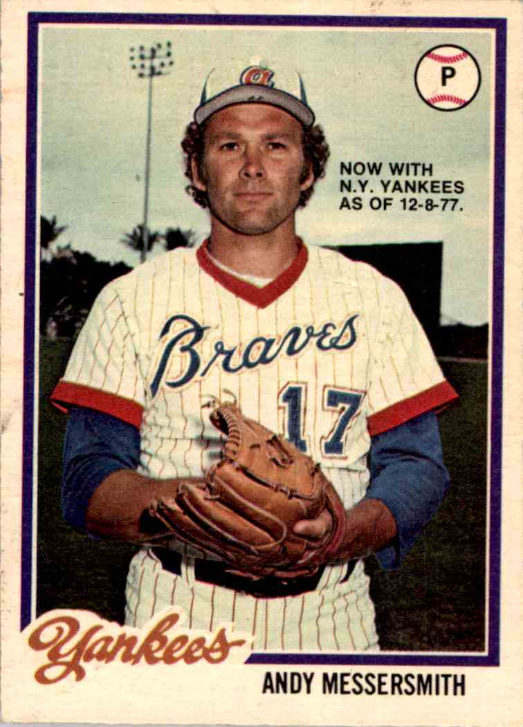 1978 O-Pee-Chee Andy Messersmith #79 card front image