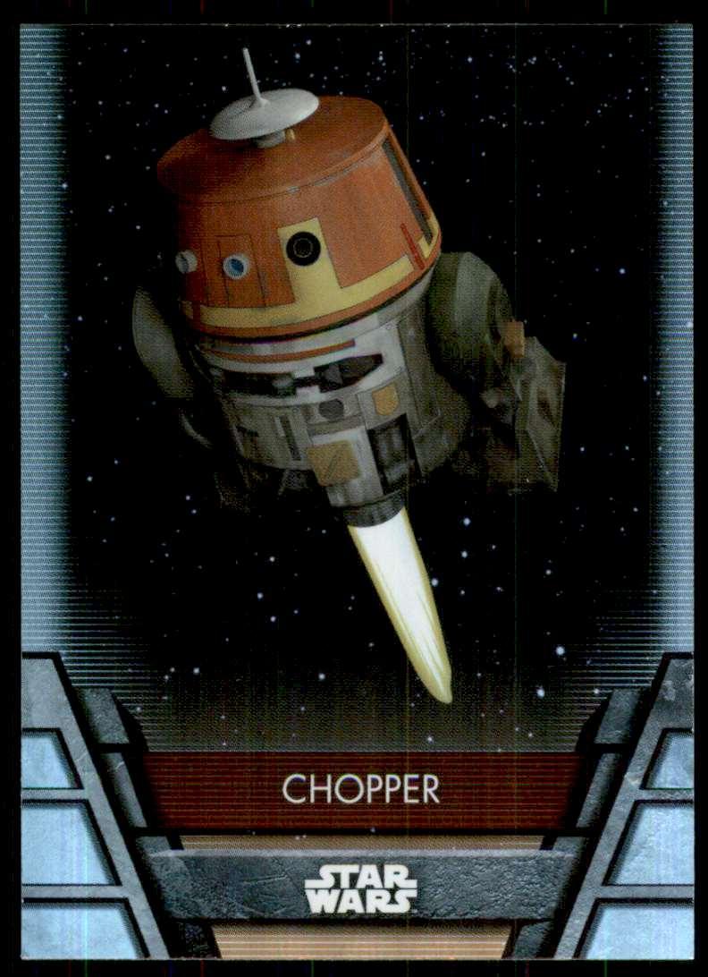 2020 Star Wars Holocron Foilboard Chopper #PX6 card front image