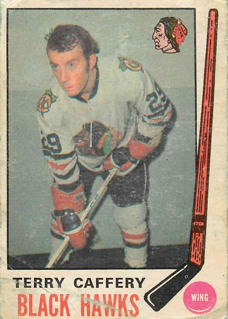 1969-70 Topps Terry Caffery #135 card front image