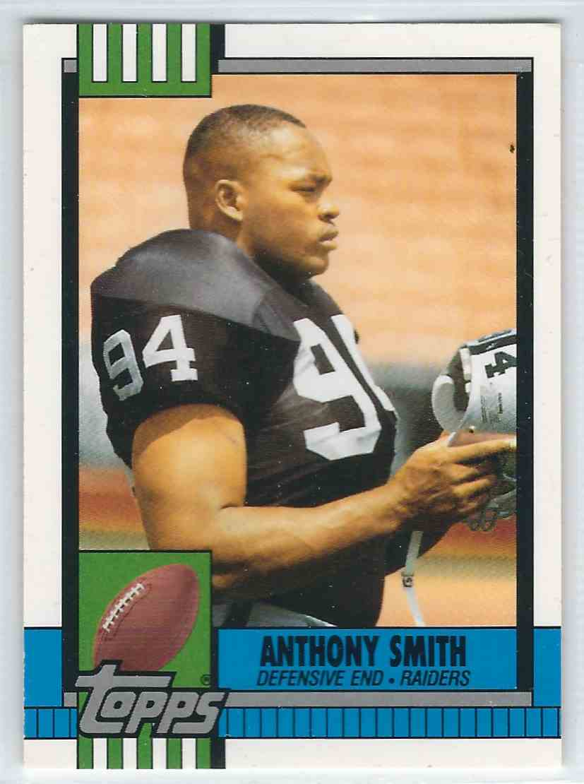 1990 Topps Traded Anthony Smith #53T card front image