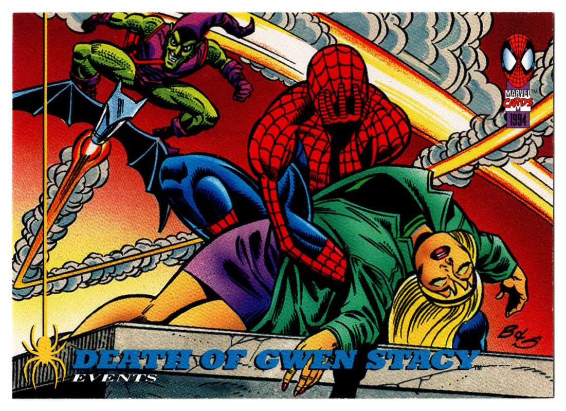 1994 Amazing Spider-Man Death Of Gwen Stacy #141 card front image
