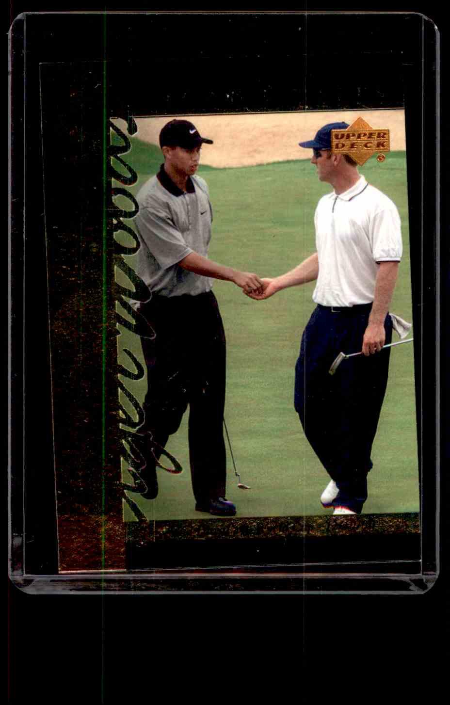 2001 Upper Deck Tiger's Tales Tiger Woods #TT30 card front image