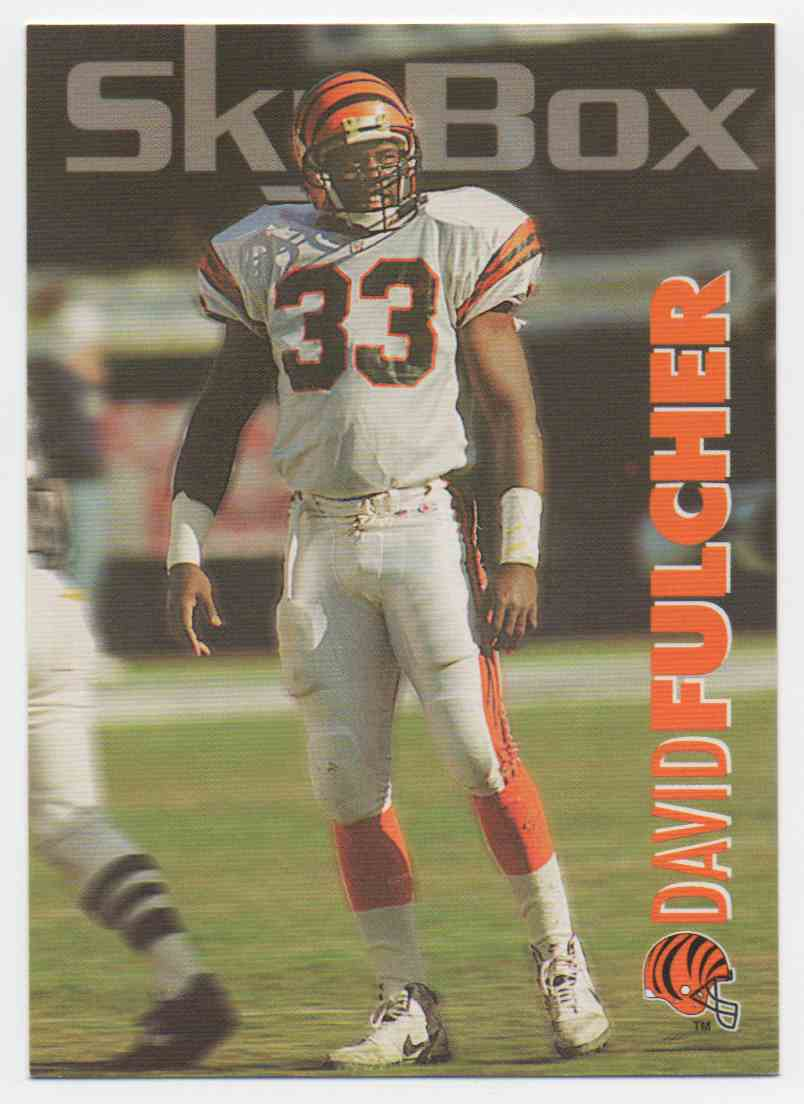 1993 Skybox Impact David Fulcher #47 card front image