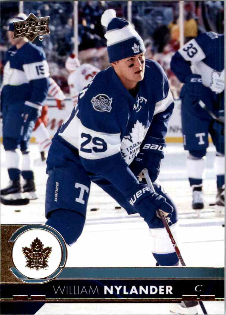 2017-18 Upper Deck Series 1 William Nylander #176 card front image