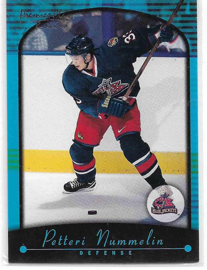 2000-01 Topps Premier Petteri Nimmelin #112 card front image