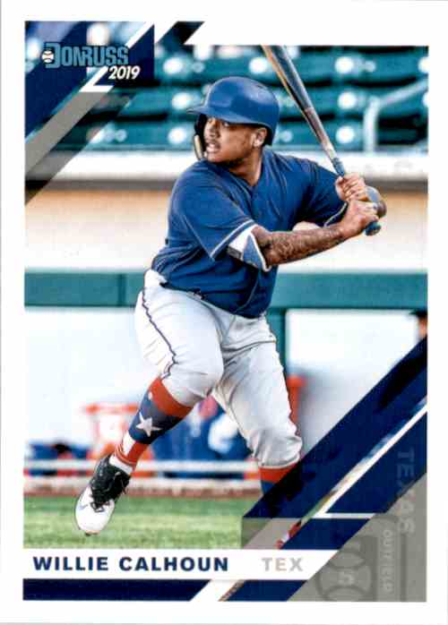 2019 Donruss Willie Calhoun #150 card front image