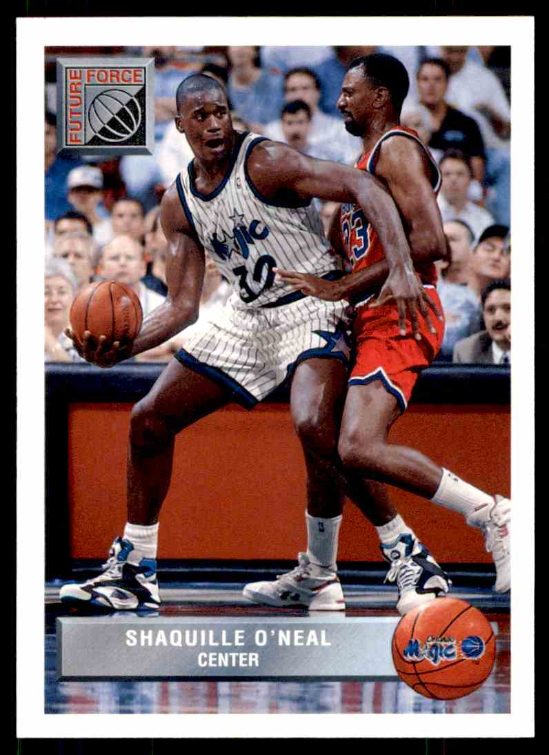 1992 93 UD Mcdonalds Future Force LSU Shaquille Oneal P43 Card Front