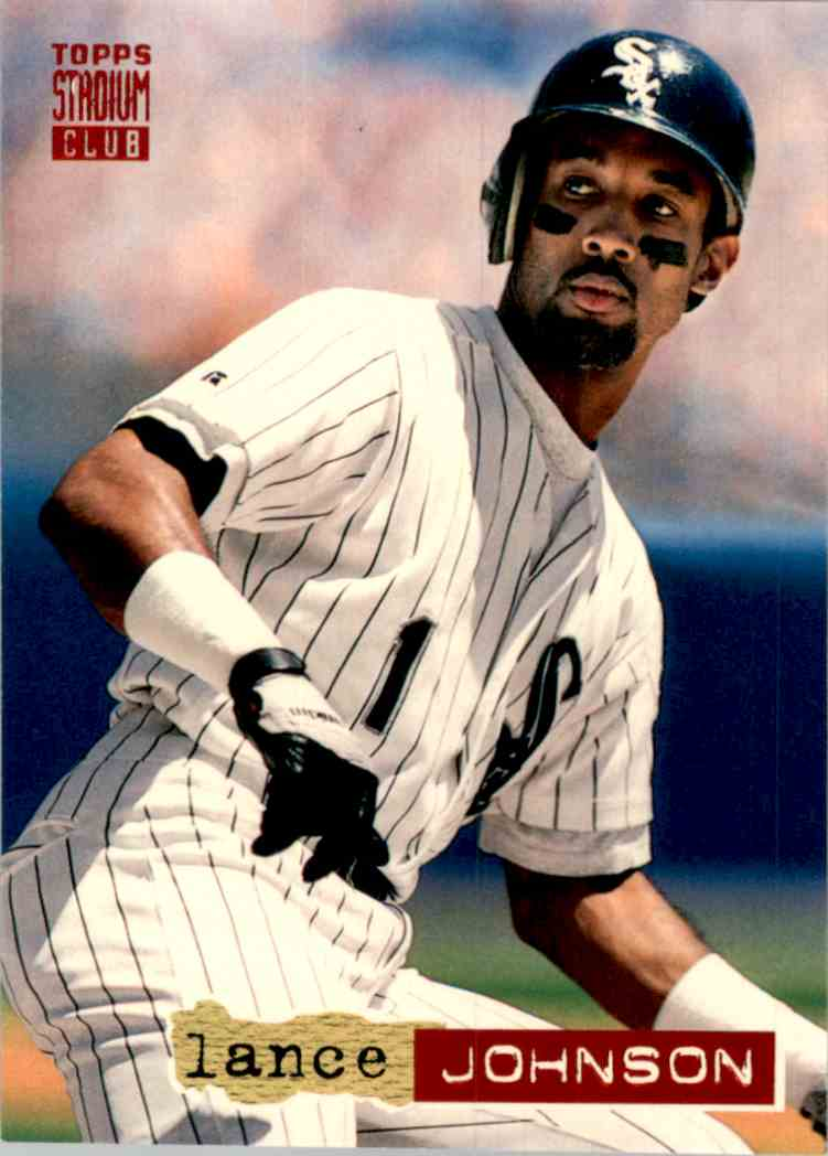 1994 Stadium Club Lance Johnson #194 card front image