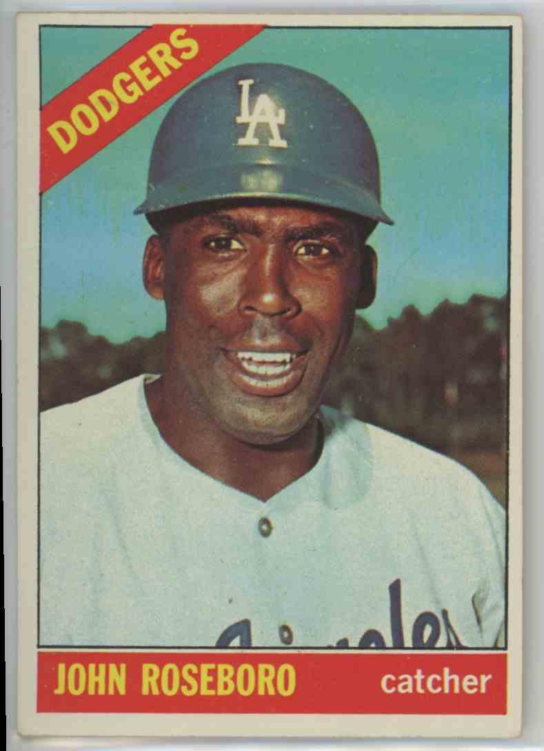 1966 Topps John Roseboro #189 card front image