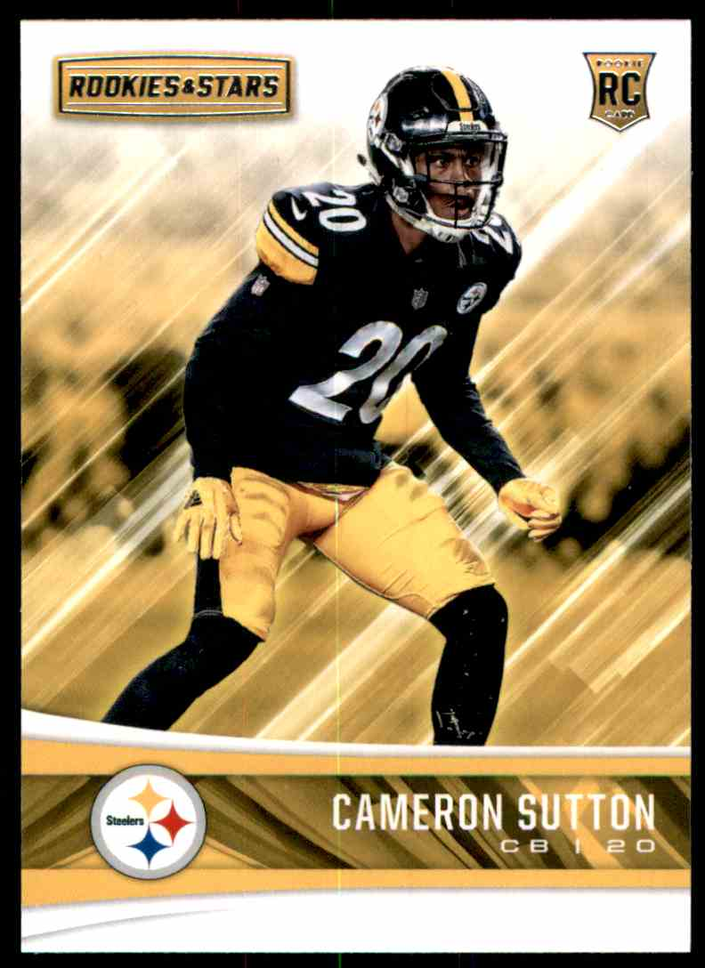2017 Rookies And Stars Cameron Sutton #265 card front image