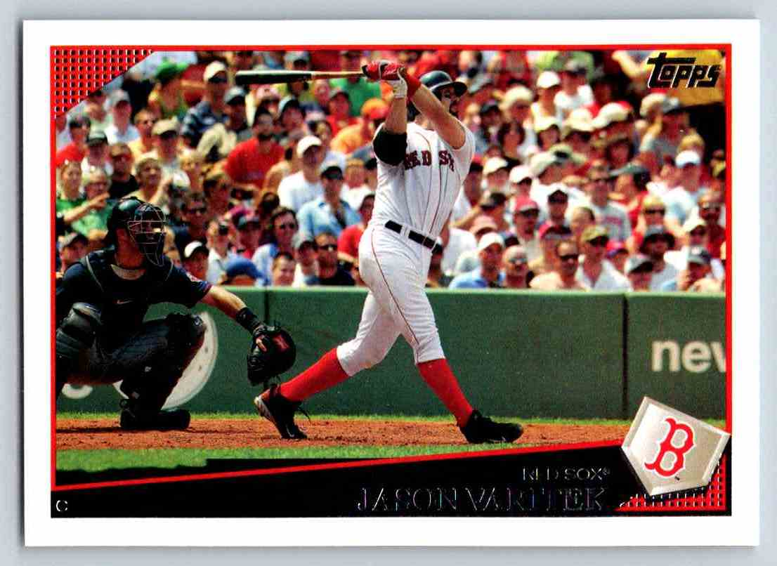 2009 Topps Jason Varitek #359 card front image
