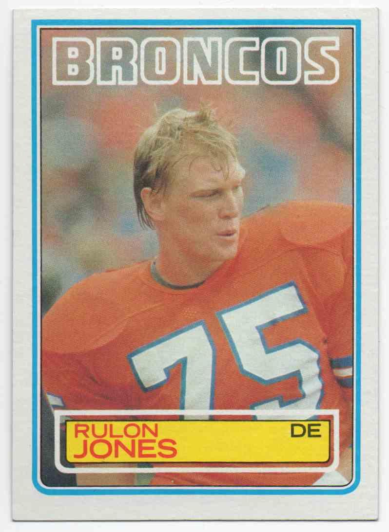 1983 Topps Rulon Jones #263 card front image