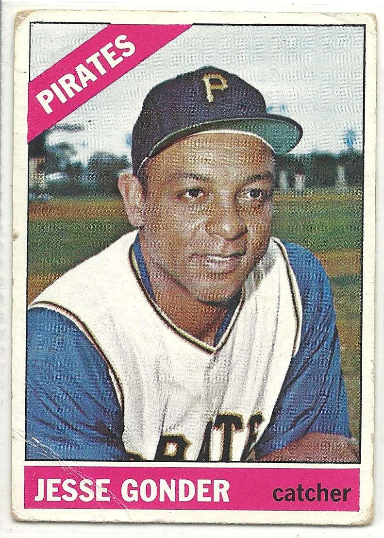 1966 Topps Jesse Gonder #528 card front image