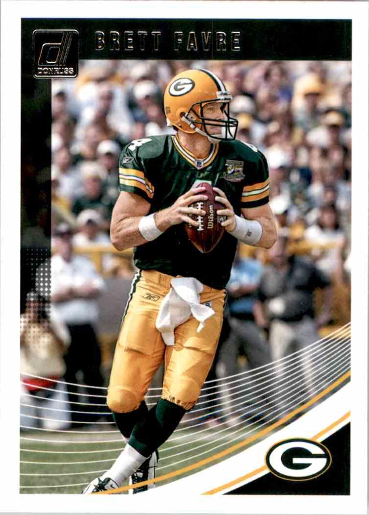2018 Donruss Brett Favre #110 card front image
