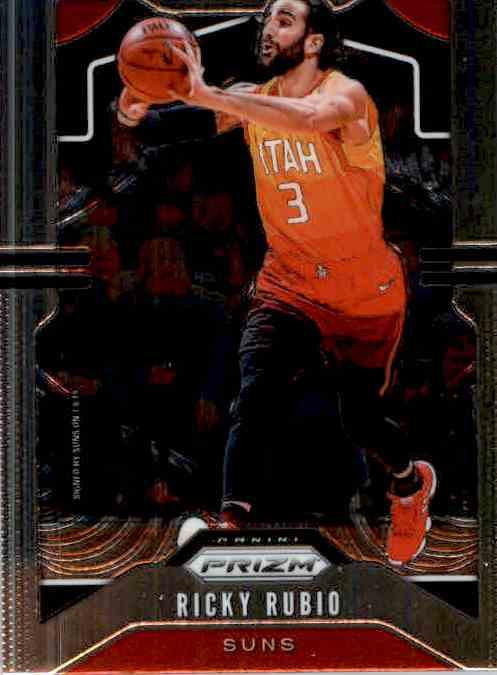 2019-20 Panini Prizm Basketball Prizm Ricky Rubio #167 card front image