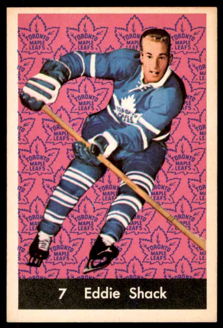 1961-62 Parkhurst Eddie Shack #7 card front image
