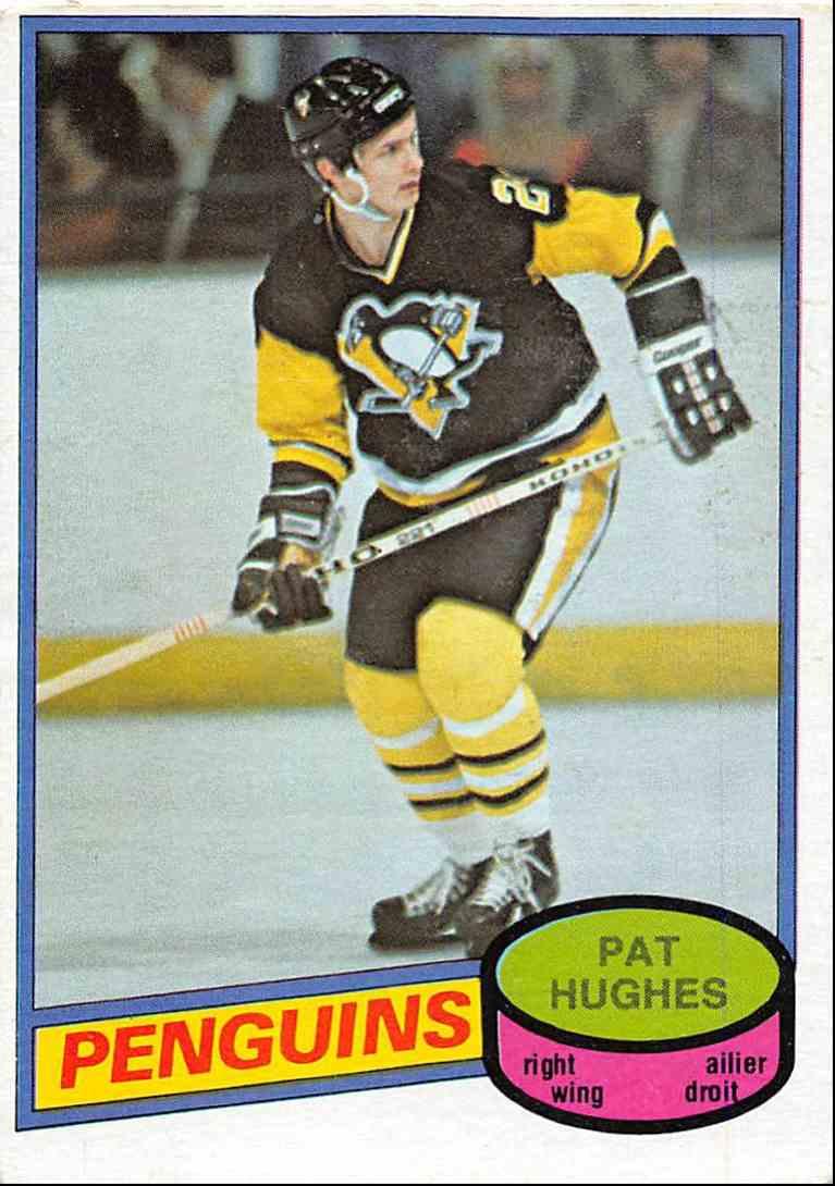 1980-81 O-Pee-Chee Pat Hughes #347 card front image