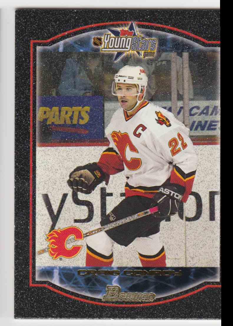 2002-03 Bowman YoungStars Craig Conroy #90 card front image