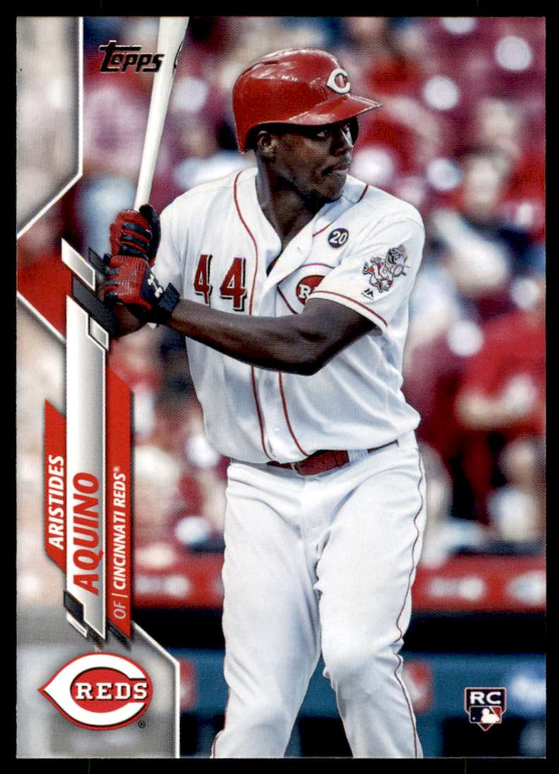 2020 Topps SP Complete Sets Aristides Aquino #20 card front image