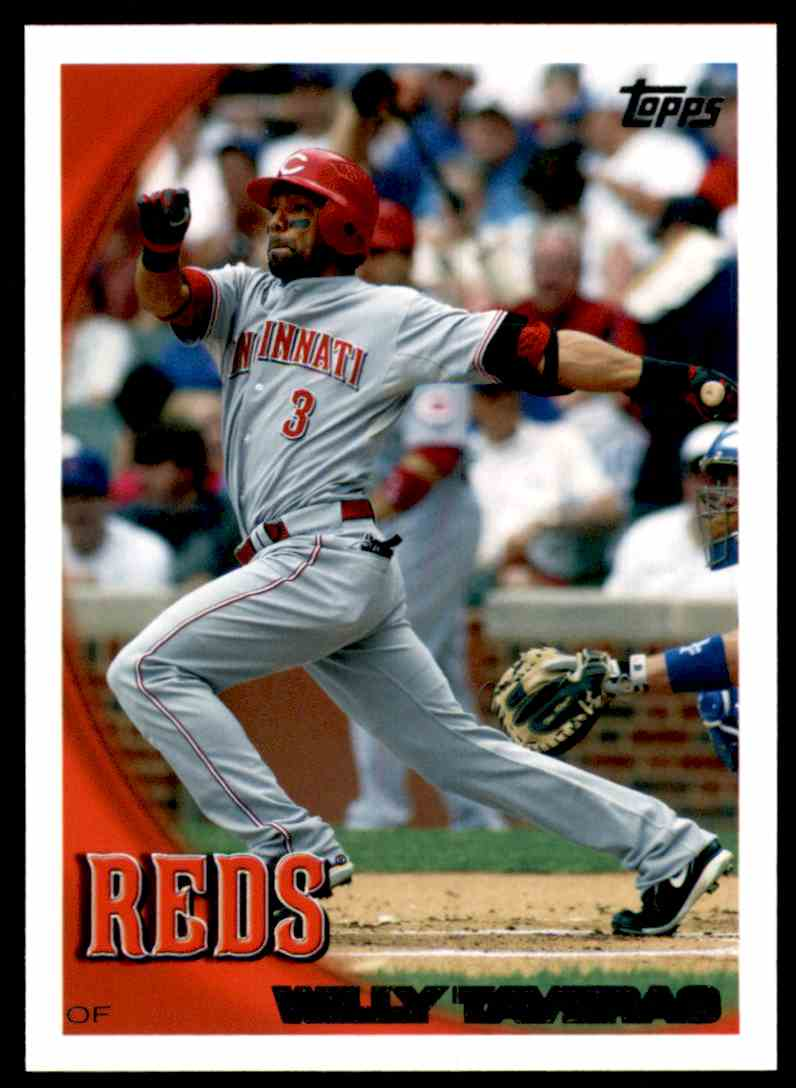 2010 Topps Willy Taveras #113 card front image