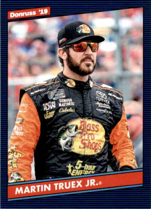 2019 Donruss Martin Truex JR. Retro #111 card front image