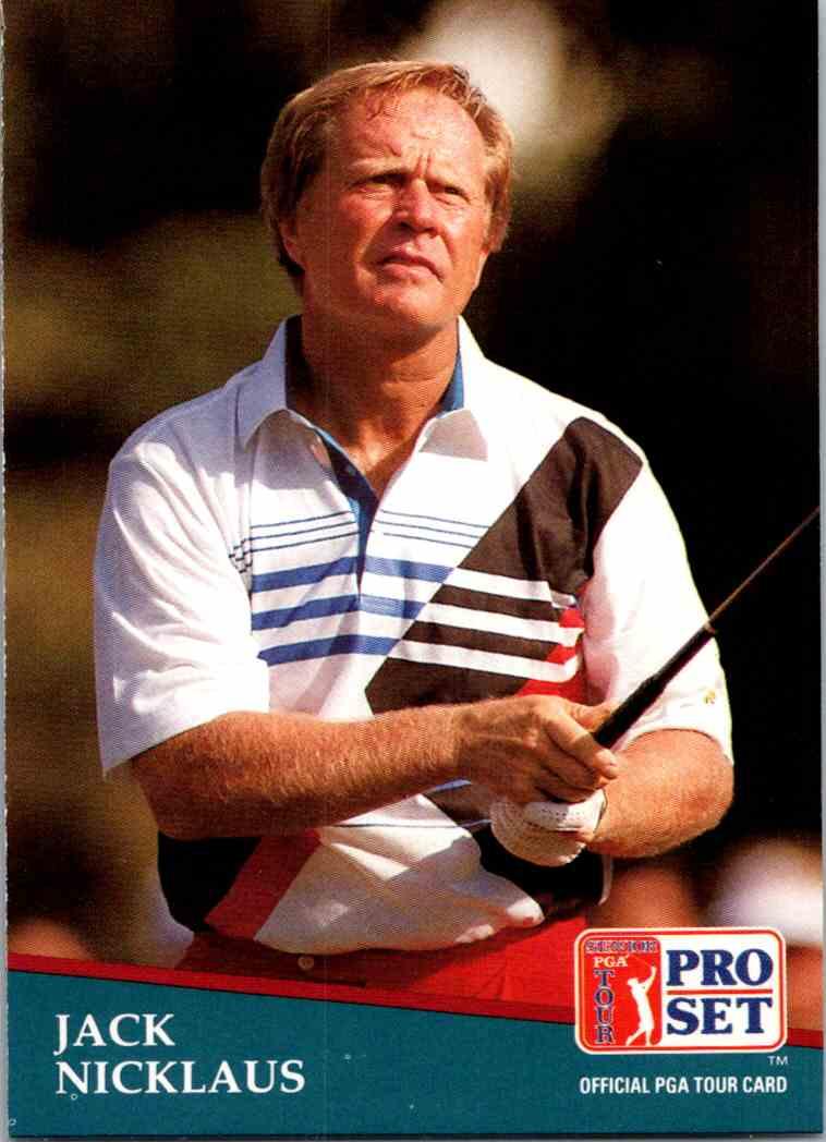 1991 Pro Set Jack Nicklaus #229 card front image