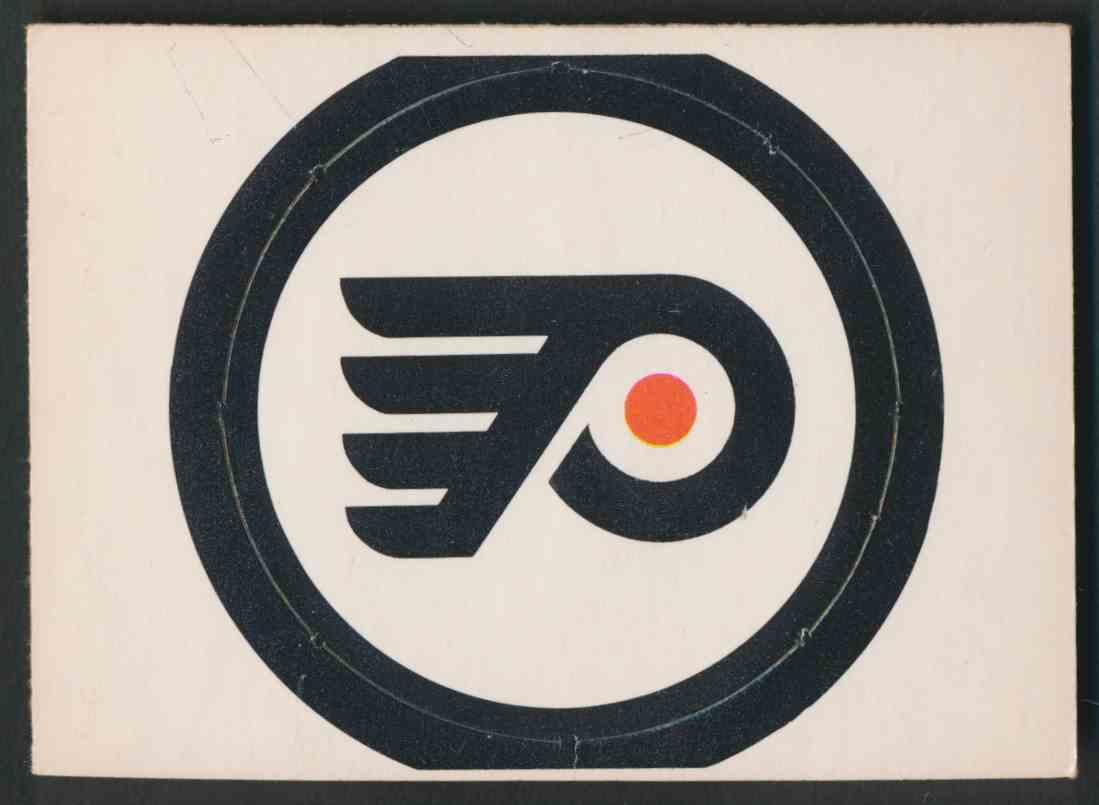 1972-73 O-Pee-Chee Philadelphia Flyers Logo card front image