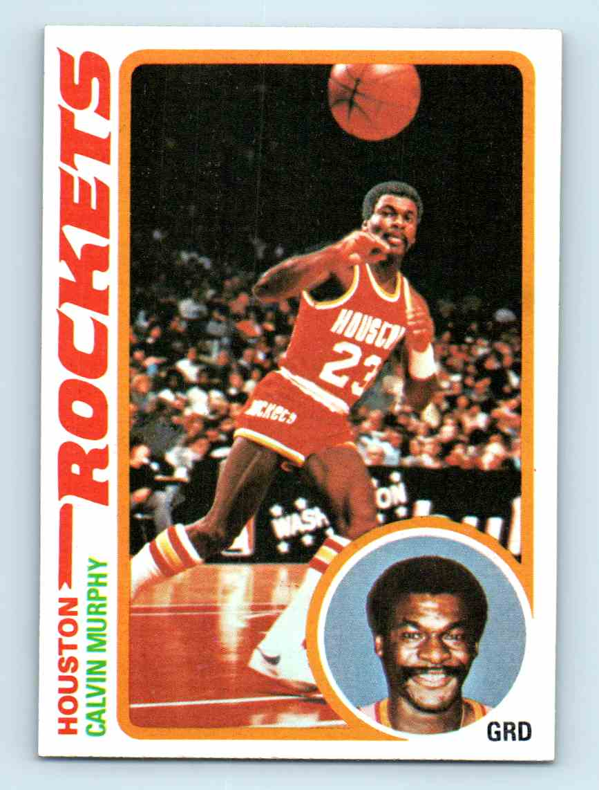 9 Calvin Murphy trading cards for sale