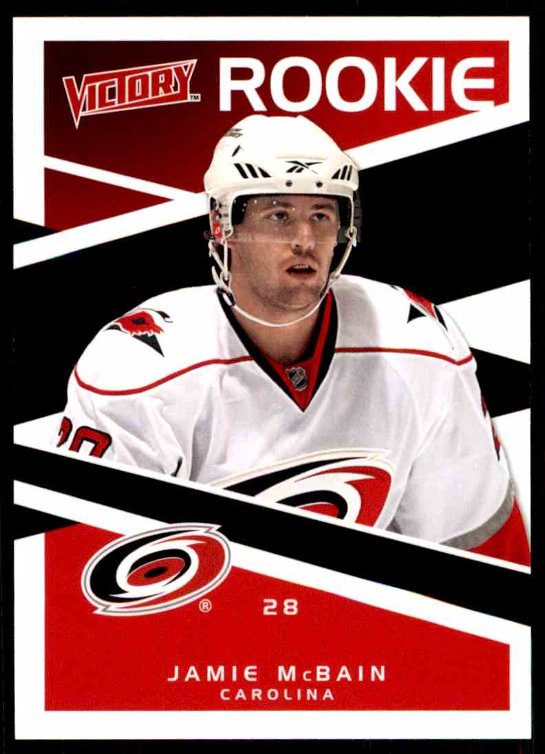 2010-11 Upper Deck Victory Rookie Jamie McBain #207 card front image