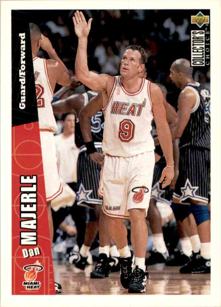 1996-97 Collector's Choice Dan Majerle #275 card front image