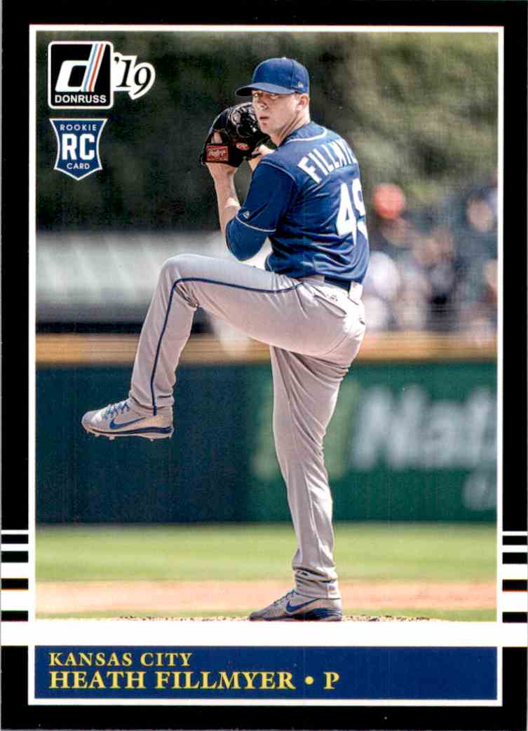 2019 Donruss Heath Fillmyer Retro RC #208 card front image