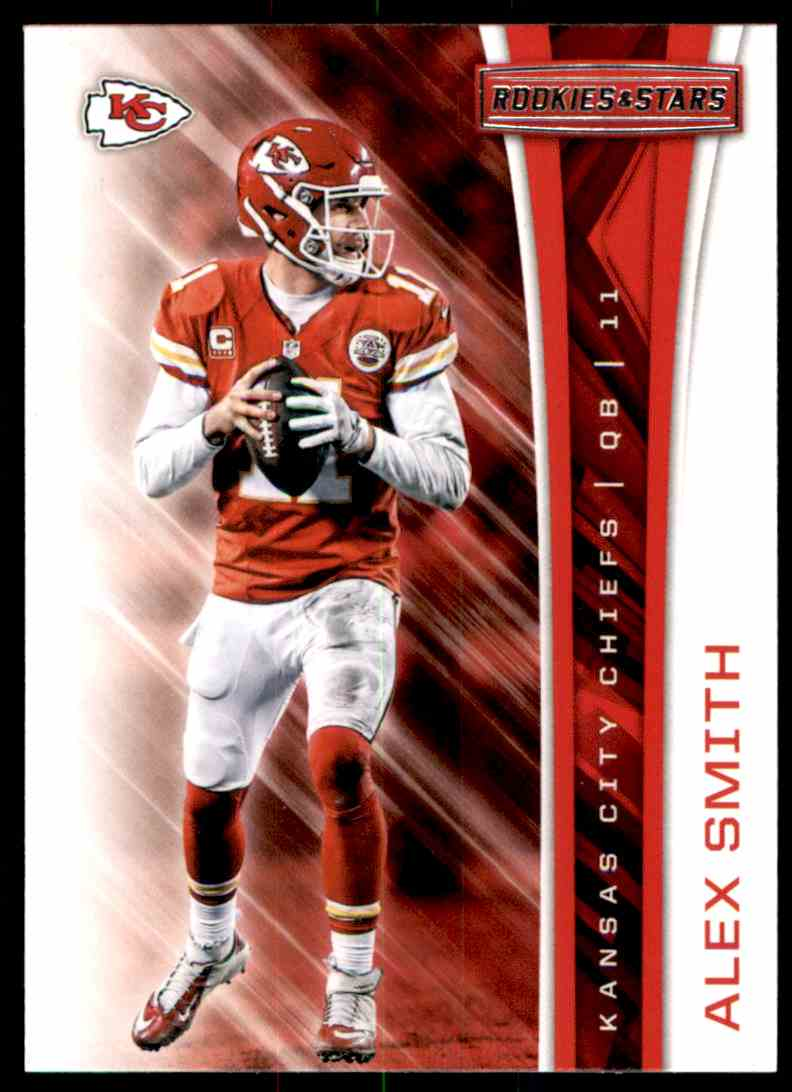 2017 Rookies And Stars Alex Smith #63 card front image
