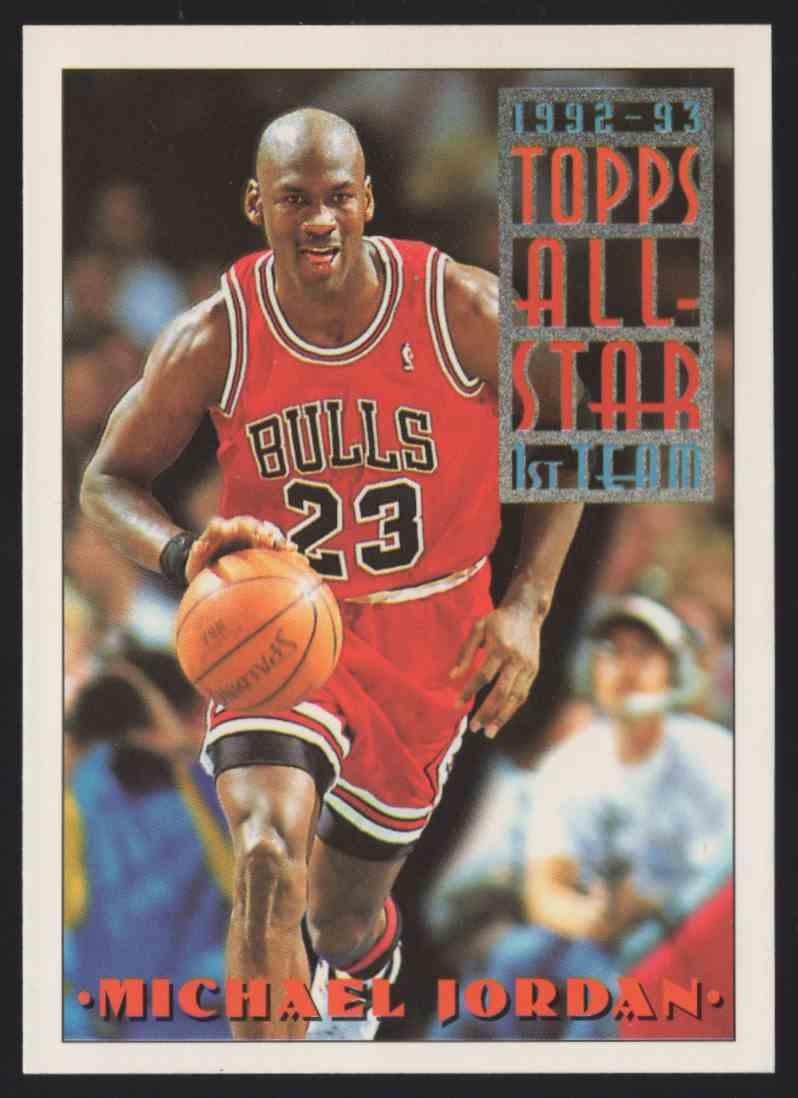 1993-94 Topps Michael Jordan As #101 card front image
