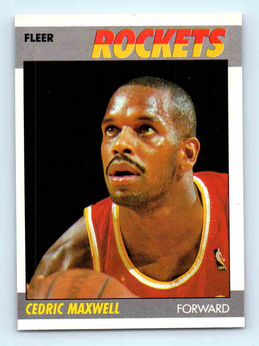 10 Cedric Maxwell trading cards for sale
