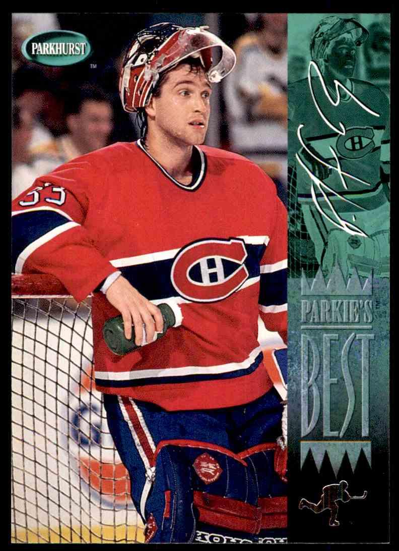 1994-95 Parkhurst Patrick Roy #312 card front image