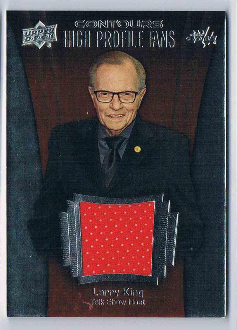 2015-16 Upper Deck Contours High Profile Fans Larry King #HPJ-LK card front image