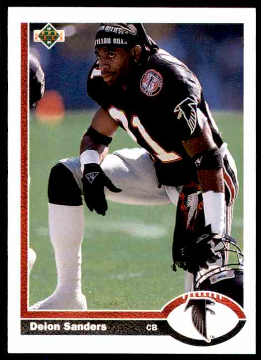 Deion Sanders Football Card